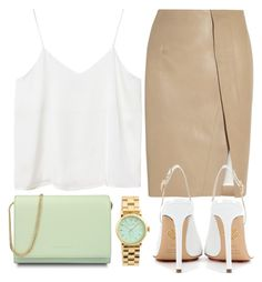 """""""pistachio /Top Fashion Set for Oct 13th, 2015"""" by majksister ❤ liked on Polyvore featuring CHARLES & KEITH, Acne Studios, Charlotte Olympia, Marc by Marc Jacobs and Monki"""