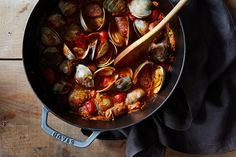 yummyinmytumbly:  Smoky Clams for Two