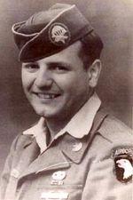 Pvt John Wielkopolan, 502nd PIR Company G, 3rd Battalion