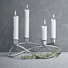 Buy Georg Jensen Season Candleholder Online at johnlewis.com