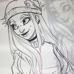 WEBSTA @ itslopez - #wip of @creamy.maddy's commission~