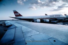 Trans World Airlines TWA, Boeing 747-100, John F. Kennedy International Airport, JFK, New York City, USA by MeYou Vern, via Flickr