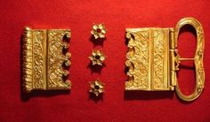 medieval buttons of europe | Castings - Medieval (13-15th C) - Other - Burgundian Belt Set 1 ...