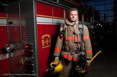 firefighter at work:  volunteer firefighter by ThiswaytoDrew, via Flickr