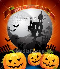 Halloween card design Stock Photo #halloween #halloweenimages