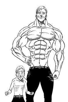 Seven Deadly Sins Tattoo, Escanor Seven Deadly Sins, Anime Figures, Anime Characters, Character Concept, Character Design, Pokemon Dragon, Anime Lineart, 7 Sins