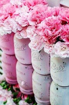 Painted mason jar ideas | DIY Home Decor Ideas on home decor, Mason Jar, Vases
