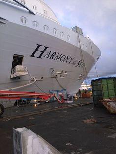Royal Caribbean International's Harmony of the Seas.