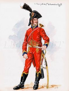 Tromba del 7 rgt. ussari francese in Egitto