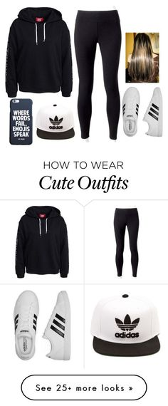 """ Cute Outfit "" by amnavore on Polyvore featuring Jockey and adidas"