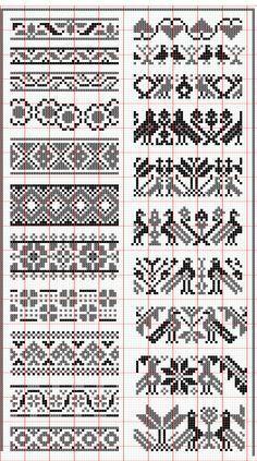 selbu charts knitting - Google-søk fågel blommor skandinaviskt färgstickning mönsterstickning