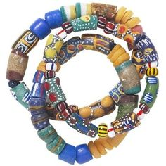 african clay bead bracelet - Google Search