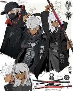 Game Character Design, Fantasy Character Design, Character Creation, Character Design References, Character Drawing, Character Design Inspiration, Character Illustration, Character Concept, Black Anime Characters