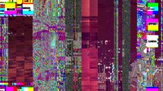 glitched out african patterns - Google Search