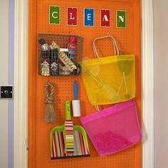 Over Door Pegboard Storage. | DIY Kitchen | Pinterest | Pegboard Storage,  Storage Ideas And Doors