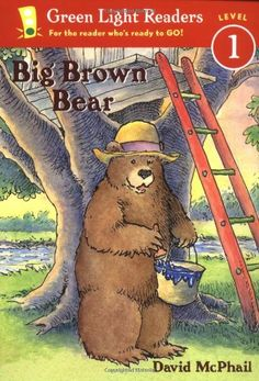 19 best level f fountas pinnell images on pinterest baby books big brown bear green light readers level by david mcphail a big brown bear turns blue while painting when a little bear playing with her baseball bat fandeluxe Choice Image