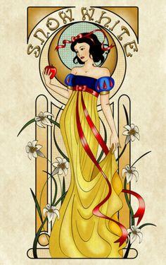 Art Nouveau Snow White :)