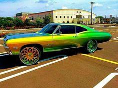 My dream old school car