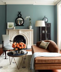 Dining room paint color with a bright blue oriental rug - Home Decorating & Design Forum - GardenWeb