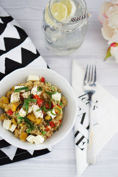 Warmer Quinoa Salat