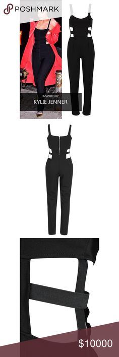 Celeb Inspired Jumpsuit❣️ Gorgeous jumpsuit as seen on Kylie Ready to ship Other