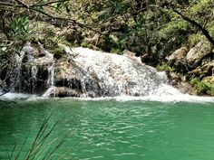 Polilimnio waterfalls