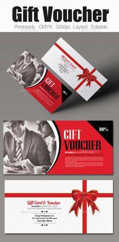 Business Gift Voucher Template #design Download: http://graphicriver.net/item/business-gift-voucher/12807220?ref=ksioks