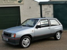 Vauxhall Nova SR - my 4th car, mine was electric blue and faultless