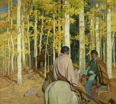 A Place in the Sun: The Southwest Paintings of Walter Ufer & E. Martin Hennings, on view at the Denver Art Museum through April 24, 2016.