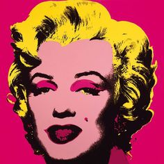 Marilyn Monroe, 1967 (hot pink) by Andy Warhol. Art print from Jaime Derringer's Inspiring Insider galleries on Art.com.