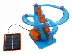 Solar Roller Coaster Race Educational Solar Kit Build Your Own Science Toy >>> You can find out more details at the link of the image. http://www.amazon.com/gp/product/B005SFH19K/?tag=gadgets3638-20&pza=051016175123