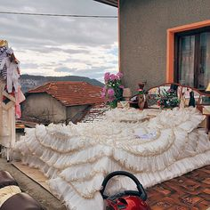 """Photojournalist Guy Martin (@mrguymartin) won't exactly say what he's doing in a mountain village in Bulgaria photographing ceremonial outdoor wedding beds. He professes, however: """"Those pictures and the real reason behind those images will become clear at the end of the year—believe me, those beds are just the beginning!"""" Creating a sense of playful intrigue through the images on his feed is par for the course for Guy. Raised in the southwest of England but based in Istanbul, Guy moves…"""