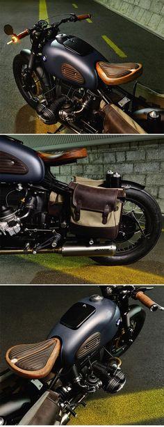 "#outofthisworld #after5 BMW R69S Bobber ""Thompson"" by ER motorcycles http://www.caferacerpasion.com/fotos-de-motos-cafe-racer-bobber-custom-y-cultura-motera/"