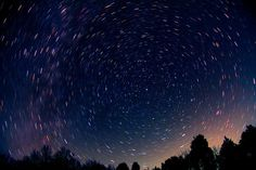 Earth's Rotation and Polaris - Earth Science Picture of the Day