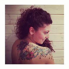 ❤ vale!  regram @themostfamoustroublemaker Sarai un grande compagno di avventure... -Yo- @anitarossitattoo . #torino#tattoo#anita#robi#thanks#instaday#igers#instalike#instamood#instadaily#followme#follow#followforfol