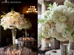 white and blush light pink wedding flowers