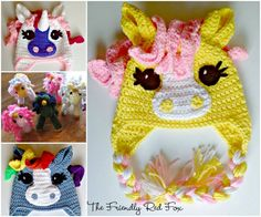 My Little Pony Free Crochet Patterns