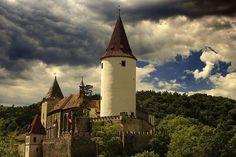 Castle Křivoklát in the Czech Republic was founded in the 12th century.