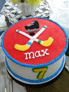 Hockey Cake ~ My Sweet Things