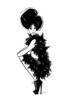 Рисунки модного иллюстратора Megan Hess