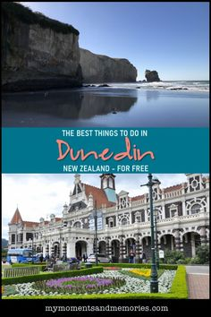 Discover the best things to in Dunedin New Zealand - for free! Dunedin has a wealth of beauty to explore, from the natural beauty of places like Tunnel Beach, to the architectural history in the city, including the Dunedin Railway Station. New Zealand Itinerary, New Zealand Travel Guide, Visit Australia, Australia Travel, Amazing Destinations, Travel Destinations, Best Travel Guides, Travel Tips, Travel Ideas