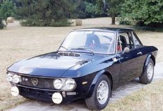 Lancia Fulvia HF, one of my dream cars. They cost soooo much now.