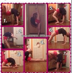 Here are some back stretches that I found on Instagram. They give really good…