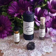 Goddess Hecate Hekate Hecate Spell Candle Set by TheShabbyWitch
