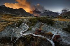 [OC] Burning clouds | French Alps [1024x651] by Emmanuel...