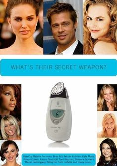 Dubbed 'The Wrinkle Iron' the Nuskin Galvanic Spa is a highly patented, Nobel Award winning handheld