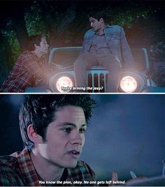 #TeenWolf5x01<<Stiles/Jeep is my OTP and the only real lasting relationship of this series. Jeep never lets Stiles down when he needs it, and Stiles will never put another before it.