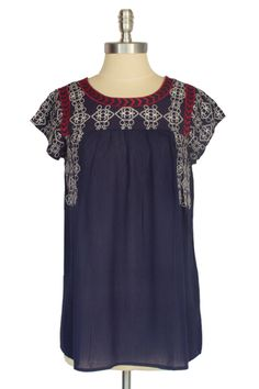 embroidered blouse Embroidered Blouse, Small World, Tunic Tops, Shopping, Women, Fashion, Moda, Fashion Styles, Fashion Illustrations