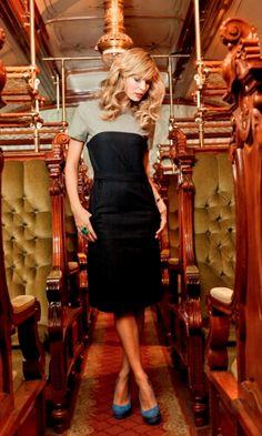 classic style- Night Train Dress #womensdresses