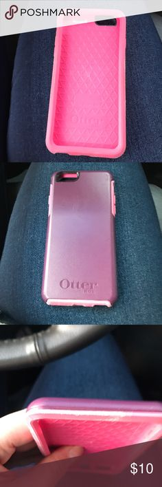 Otterbox commuter iPhone 6/6s Good condition pink and purple otterbox commuter for iPhone 6/6s OtterBox Accessories Phone Cases